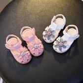 【618】好康鉅惠2018夏女寶寶涼鞋1-3歲公主鞋鏤空嬰兒學步鞋