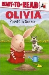 【Olivia系列讀本】OLIVIA PLANTS A GARDEN /L1
