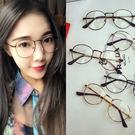 韓國超輕金屬鏡框復古細框平光鏡/造型眼鏡...