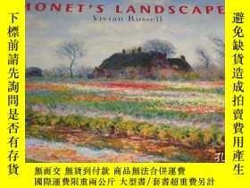 二手書博民逛書店2手英文罕見Monet s Landscapes 莫奈風景 sd