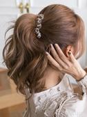 香蕉夾夾子頭飾韓國發卡優雅成人女馬尾夾氣質豹紋發夾後腦勺香蕉夾豎夾 麥吉良品