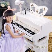 鑫樂兒童電子琴帶麥克風初學寶寶多功能鋼琴玩具禮物1-3-6-8歲igo「時尚彩虹屋」