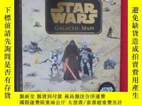 二手書博民逛書店Star罕見Wars Galactic Maps: An Ill