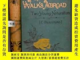二手書博民逛書店1890年罕見The Walks Abroad of Two Y