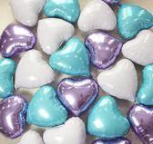 愛心氣球心形鋁箔鋁膜表白告白氣球婚慶結婚婚房布置生日裝飾用品洛麗的雜貨鋪