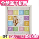 Ladonna 嬰兒成長相框 LB18 週歲成長紀錄 彌月禮 小寶寶 日本【小福部屋】