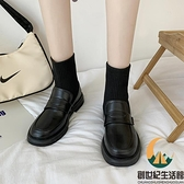 短靴襪靴女馬丁春秋單靴百搭顯腳小瘦瘦【創世紀生活館】
