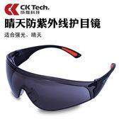 科技防風沙防塵騎行護目鏡戶外運動化學工業打磨勞保太陽眼鏡  花間公主