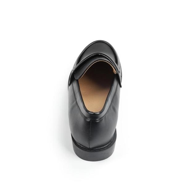 牛津鞋 英倫學院風舒適低跟柔軟中口樂福鞋休閒牛津鞋圓頭單鞋粗跟女鞋子 寶貝計書
