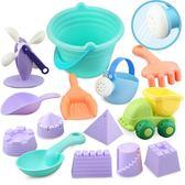 兒童沙灘玩具套裝玩沙子挖沙漏決明子鏟子寶寶洗澡戲水玩具【全館鉅惠風暴】