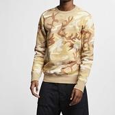 Nike 長袖T恤 SB Crew Icon Erdl 咖啡 卡其 迷彩 沙漠 男款 大學T【ACS】 AT9769-248