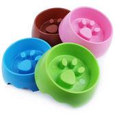 寵物餐具 細嚼慢嚥 防噎慢食碗 防噎碗 塑膠寵物碗 圓碗 貓碗 狗碗 顏色隨機 大小自選~4G手機