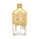 ●魅力十足● Calvin Klein CK ONE GOLD中性淡香水(100ml) 限量版 tester