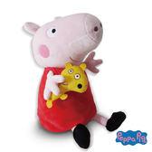 美國 Zoobies 三合一多功能玩偶毯/毯子/毛毯【正版授權】- 佩佩豬Peppa Pig(禮盒裝)