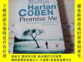 二手書博民逛書店外文書《Harlan罕見COBEN Promise Me》 新e