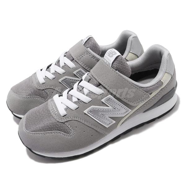 New Balance 慢跑鞋 YV996 W 寬楦 童鞋 女鞋 麂皮 魔鬼氈 【ACS】 YV996CGYW