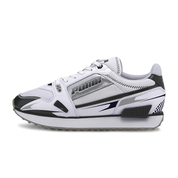 Puma Mile Rider 女 運動鞋 黑白 阿甘鞋 運動鞋 復古鞋 輕量 運動 休閒鞋 37344305