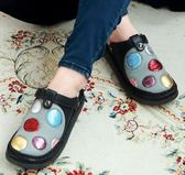 MODO/美的冒泡/兩用款-THE ONE 氣墊鞋(全牛皮)-G10907 黑