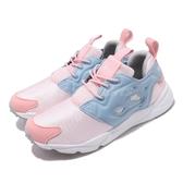 【海外限定】 Reebok 休閒鞋 Furylite Mu 粉紅 藍 女鞋 粉色系 運動鞋 【ACS】 DV6596