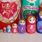 俄羅斯特色10層套娃中國風創意抖音禮物木質兒童進口玩具   東川崎町