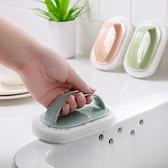 清潔刷 浴缸刷 浴室 菜瓜布 瓷磚刷 廚房 去污刷 洗鍋 海綿擦 帶手柄去污清潔刷【N228】慢思行