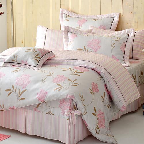 床罩組/雙人加大-6x6.2尺-中式全套-[毬蘭物語]-59181-天絲-獨家花色-(好傢在)