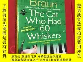 二手書博民逛書店The罕見Cat Who Had 60 WhiskersY187