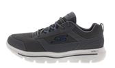 SKECHERS 男款灰色慢跑鞋-NO.54734CCBL