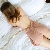 情趣睡衣蕾絲款 夏季衣人情調性感吊內衣薄款短蕾絲睡裙 全館免運