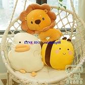 陪睡公仔 毛絨玩具床上抱枕大白鵝小玩偶生日禮物【樹可雜貨鋪】