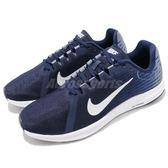 Nike 慢跑鞋 DownShifter 8 藍 白 低筒 路跑 運動鞋 基本款 男鞋【PUMP306】 908984-404