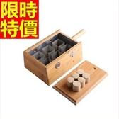 艾灸器具 艾草針灸盒-竹製六孔盒隨身灸盒溫多功能65j18【時尚巴黎】