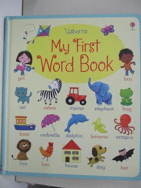 【書寶二手書T4/少年童書_DS5】My First Word Book_Brooks Felicity