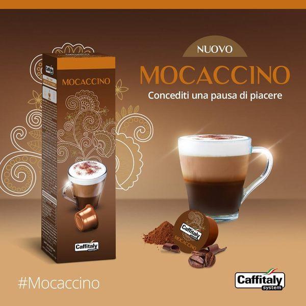 Caffitaly [摩卡巧克力咖啡 Mocaccino 10顆裝/@15g] 伯朗咖啡膠囊 燦坤Tiziano 聲寶膠囊咖啡機適用 EZcap