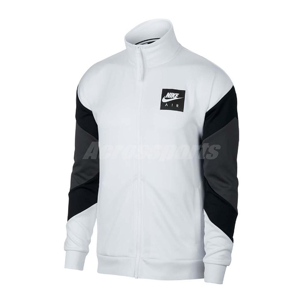 Nike 防風外套 NSW AIR Jacket PK 白 黑 運動夾克 男款 【PUMP306】 AJ5322-100