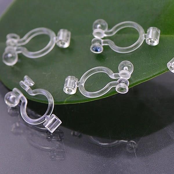 透明環保樹脂耳針耳夾轉換器(2入) / 衣櫃控-WardrobE / YI079