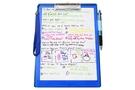 [ABEL] 便利袋板夾-A4(藍)