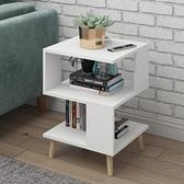 北歐簡約現代小茶几客廳創意方幾經濟型沙發桌邊櫃簡易小戶型桌子 ATF 艾瑞斯
