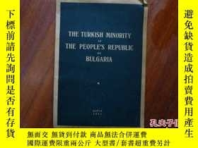 二手書博民逛書店THE罕見TURKISH MINORITY IN THE PEO