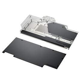 Phanteks 追風者PH-GB3090ASSRX_BK01_BP華碩GPU Block(顯示卡)水冷頭及背板組合包-黑色