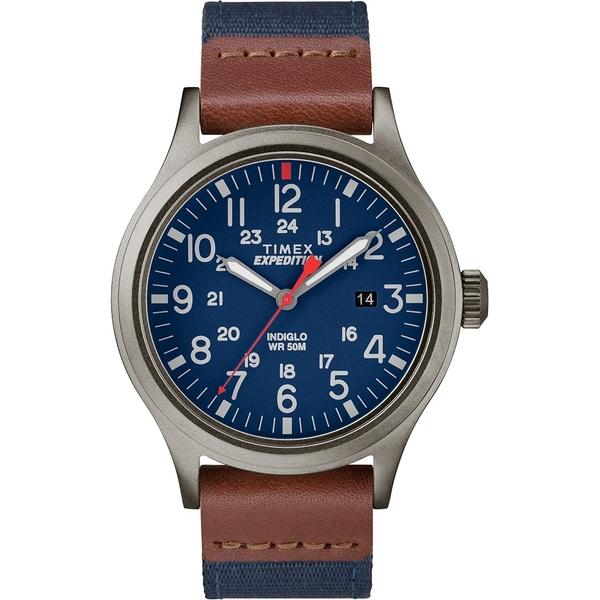 【TIMEX】 天美時 遠征系列 探險手錶 (藍/咖啡 TXTW4B14100)