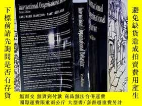 二手書博民逛書店International罕見Organizational Behavior Second EditionY2
