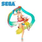 【日本正版】初音未來 熱帶夏日泳裝 SPM 公仔 24cm TROPICAL SUMMER MIKU 初音 SEGA - 942181