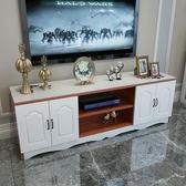簡約現代鋼化玻璃客廳電視櫃歐式多功能臥室簡易電視機櫃組合地櫃WY 【快速出貨八五折鉅惠】