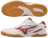 美津濃 MIZUNO 男桌球鞋 WAVE DRIVE 8 (白x紅) 81GA170562【 胖媛的店 】