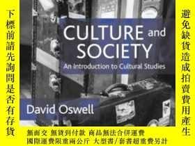 二手書博民逛書店Culture罕見And Society-文化與社會Y436638 David Oswell Sage Pub