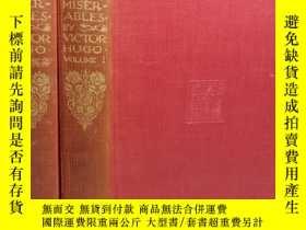 二手書博民逛書店1927年罕見VICTOR HUGO S LES MISERAB