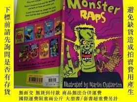 二手書博民逛書店monster罕見raps 怪物饒舌Y200392
