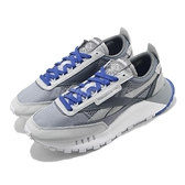 Reebok 休閒鞋 CL Legacy 灰 藍 男鞋 Classic Leather 運動鞋 【ACS】 FZ0815