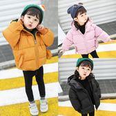 女童冬裝棉服日韓中小兒童加厚保暖寶寶時髦羽絨棉襖潮衣迪澳安娜